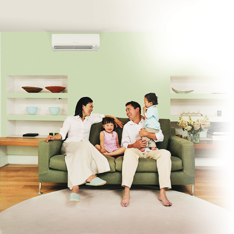 Ductless heating and air conditioner solutions in Rochester, New York.