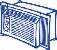 Replace your window air conditioner in Rochester, New York.